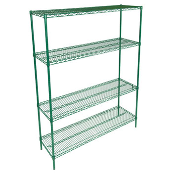 John Boos Wire Shelf Only in Multiple Sizes, Green Epoxy
