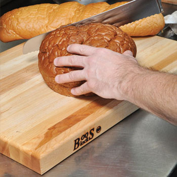 John Boos Reversible Maple Wood Cutting Boards