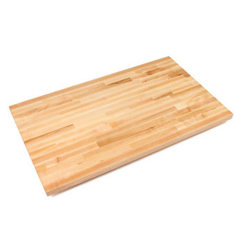"John Boos Blended Maple Island Top, 1-1/2"" Thick"