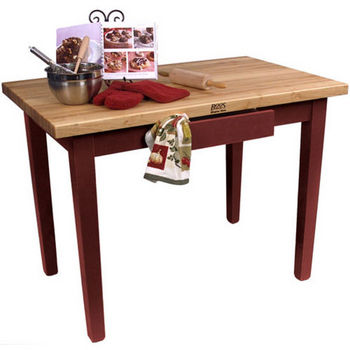 Barn Red Base, No Shelf