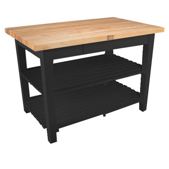 Black Base, 2 Shelves