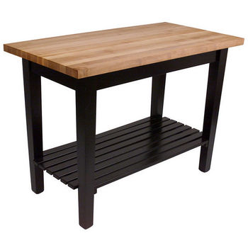 Black Base, 1 Shelf