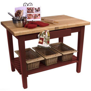 Barn Red Base, 1 Shelf