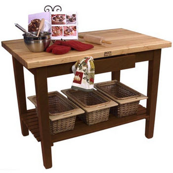 Cherry Stain Base, 1 Shelf