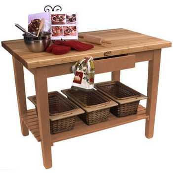 Natural Maple Base, 1 Shelf