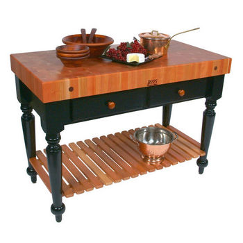 John Boos Kitchen Carts & Kitchen Islands