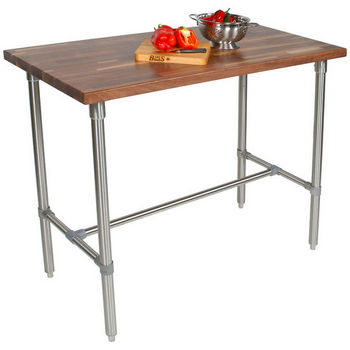 John boos kitchen carts and kitchen islands cucina americana collection butcher block tops - John boos cucina ...