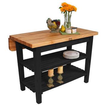 Kitchen Island Bar Work Table by John Boos