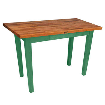 Clover Green Oak Table