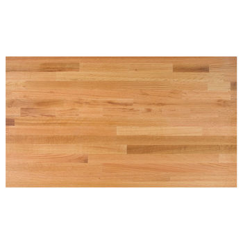 "John Boos Blended Oak 25"" Deep Kitchen Counter Top, 1-1/2"" Thick"