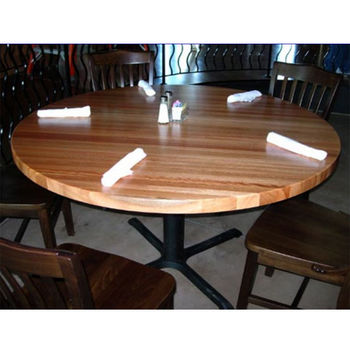 table tops butcher block table tops by john boos kitchensource com