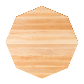 Maple Octagonal Butcher Block Table Tops