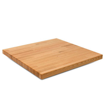"John Boos Oak Blended Butcher Block Table Top, Rectangular, 30""D"