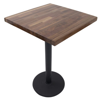 John Boos American Black Walnut Top w/ Base Illustration