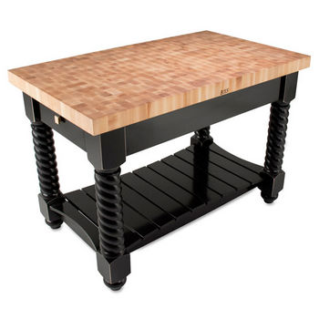 John Boos Tuscan Isle Maple End Grain Boos Butcher Block ...