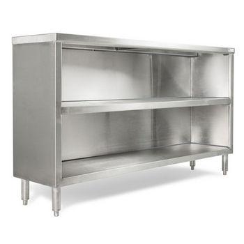 John Boos Urban Industrial Buffet Cabinet, Stainless Steel, 18 Gauge