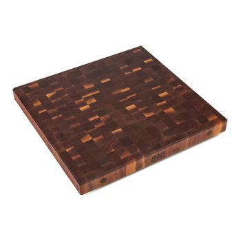 John Boos Walnut End Grain Butcher Block Island Counter Top