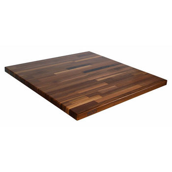 "John Boos Blended Walnut Island Top, 1-1/2"" Thick"