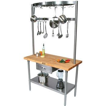 Build A Table Cucina Grandioso Kitchen Island by John Boos