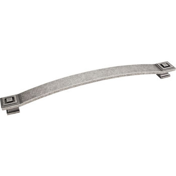 Jeffrey Alexander Delmar Collection 13-1/4'' W Appliance Pull in Distressed Pewter