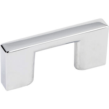 Jeffrey Alexander Sutton Collection 2-1/4'' W Cabinet Bar Pull in Polished Chrome