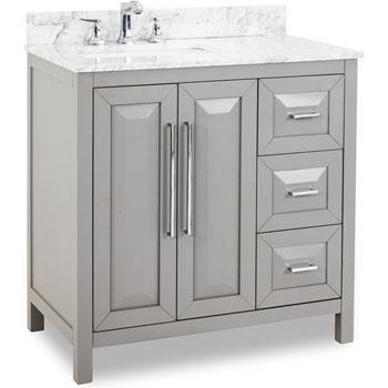 Jeffrey Alexander Solid Wood & MDF Bathroom Vanities - Available ...