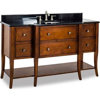 Jeffrey Alexander Solid Wood Mdf Bathroom Vanities Available With Granite Or Marble Top