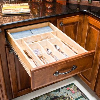 Drawer Organizer Insert Cutlery Tray