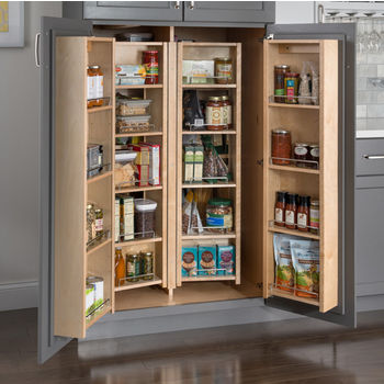 Pantry Swing Out Cabinets