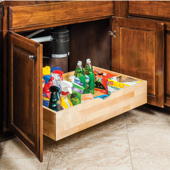 Preassembled Rollout Drawer Shelf System for 12