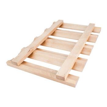"Stemware Rack, Maple, 18""W x 12""D x 1-1/2""H"