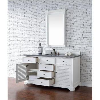 Cottage White, 3cm Shadow Gray- Storage View