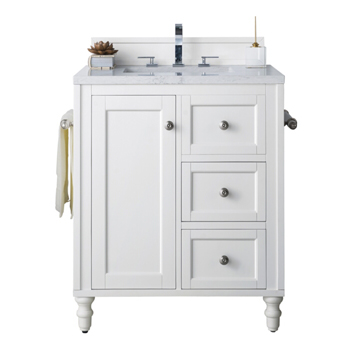 Bright White Cabinet Only View