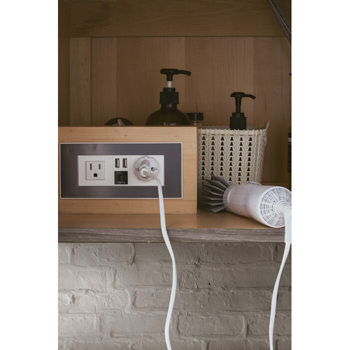 """36"""" Ash Gray Cabinet Electrical Component"""