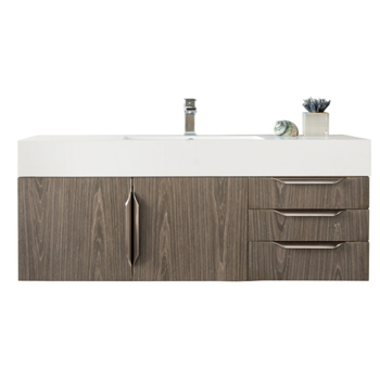 """48"""" Ash Gray Cabinet View"""