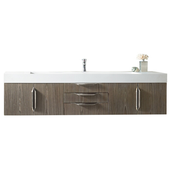 """72"""" Ash Gray Cabinet View"""