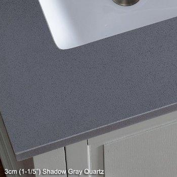 3cm (1-1/5'') Shadow Gray Top