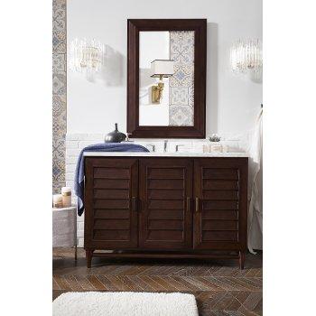 Bathroom Vanity With Wood Hardware
