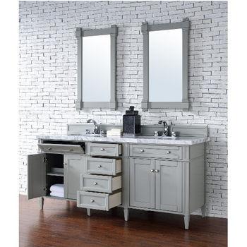 Urban Gray, 4cm Carrara White-