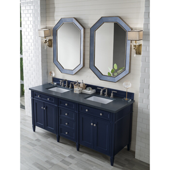 Victory Blue Charcoal Soapstone Top