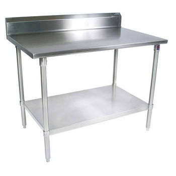 ST4R5-GS Series 14-Gauge Stainless Steel Work Table