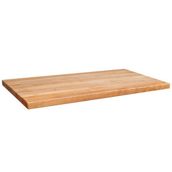 "John Boos 2-1/4"" Hard Rock Maple Butcher Block Island Counter Tops"