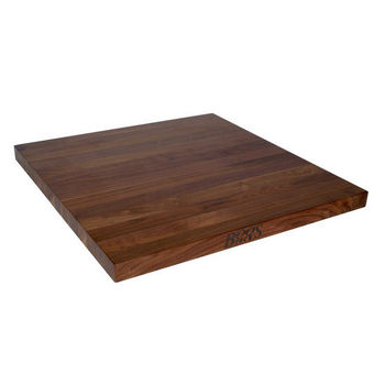 "John Boos 1-1/2"" Walnut Butcher Block Island Counter Tops"
