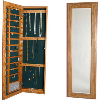 Cabinet Organizers Large Jewelry Cabinet With Full