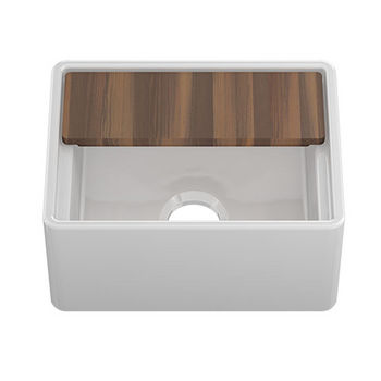 Sink w/ Cutting Board Top View