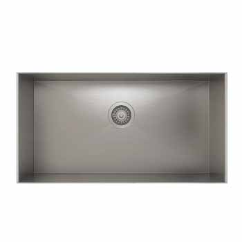 29'' undermount sink with single bowl