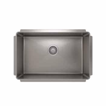 """27""""W x 10""""H Kitchen Sink"""