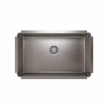 """29""""W x 8""""H Kitchen Sink"""