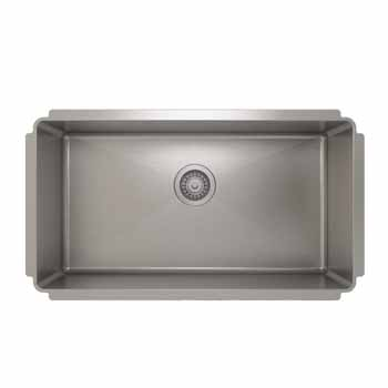 """32""""W x 10""""H Kitchen Sink"""