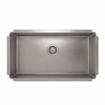 """32""""W x 8""""H Kitchen Sink"""